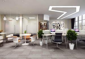 上海高端办公室装修,老板办公室高端装修