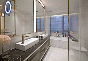 卫生间4平方米怎么装修,4平方米小卫生间装修效果图