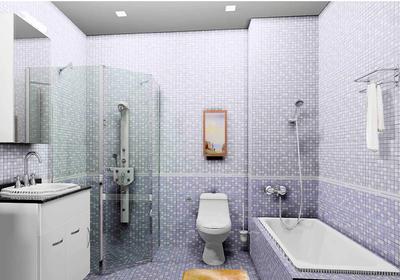 3平正方形小卫生间装修效果图大全,正方形3平米小卫生间装修效果图