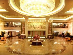 宾馆大厅集成板墙板装修效果图,宾馆大厅简装修效果图