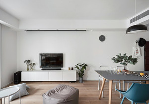 70平米小户型装修图片北欧,70平米小户型房子装修图片欣赏