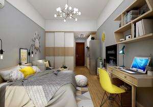 90平米兩室一廳簡裝修效果圖,90平米兩室一廳北歐裝修效果圖