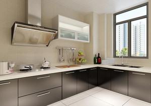 3平米厨房装修效果图大全,3平米l形厨房装修效果图