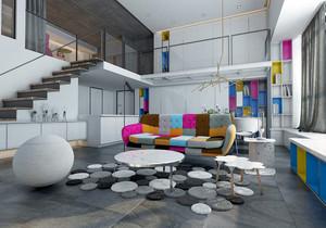 科技公司loft装修效果图,科技公司总经理办公室装修效果图