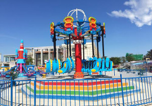 游乐园的设计效果图,30平方室内游乐园效果图