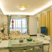 客厅欧式局部一居室装修