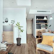 客廳日式局部一居室裝修