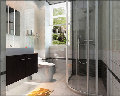 正方形的小卫生间装修效果图,小正方形卫生间装修效果图