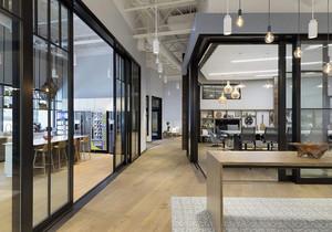 商铺玻璃隔层装修效果图,商铺隔层装修效果图欣赏