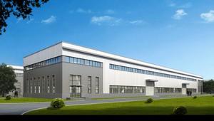 工业厂房效果图设计,橡胶工业厂房效果图