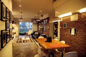 装修室内墙面颜色效果图,餐厅室内墙面装修效果图大全