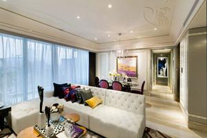 100平米复式公寓装修样板房,100平米装修智能型样板房