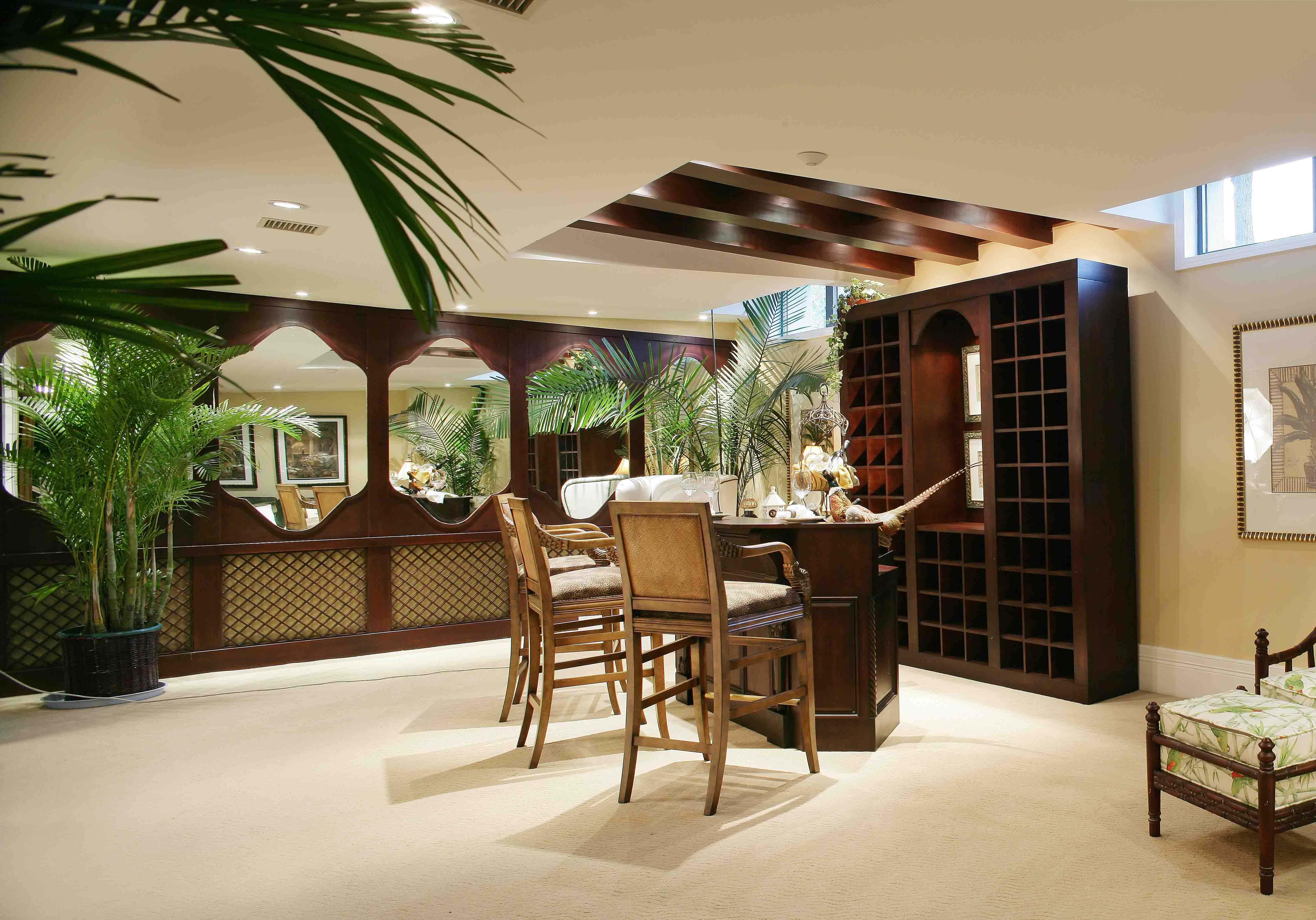 农村东南亚风格别墅装修效果图,高端别墅装修东南亚风格