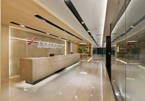 金融公司形象墙效果图,贷款金融公司办公室装修设计效果图