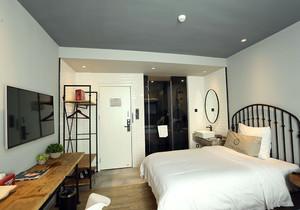 公寓单间足彩导航效果图,23平方单间公寓足彩导航效果图