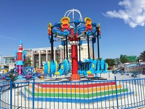 小型游乐园平面设计图,主题游乐园设计图
