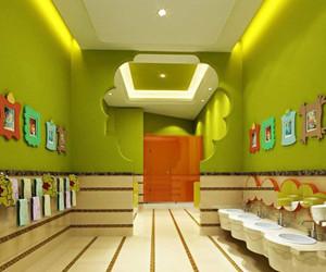 日本幼儿园卫生间装修效果图,幼儿园公共卫生间装修效果图