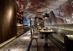 餐饮店平面图设计说明,大型餐饮店平面图