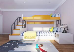 儿童双层榻榻米卧室效果图大全,男孩儿童榻榻米卧室效果图大全