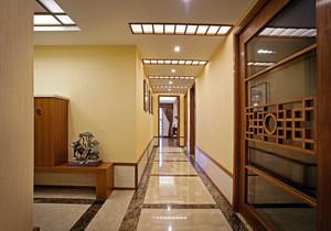 走廊小吊顶足彩导航效果图,中式小走廊吊顶足彩导航效果图欣赏