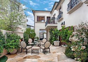 三角形入室花园怎么装修,小入室花园装修效果图大全