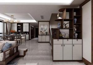 中式廚房隔斷博古架效果圖大全,中式裝飾博古架隔斷效果圖