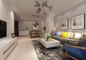 融创90平米两室一厅装修效果图,90平米两室一厅上下层装修效果图