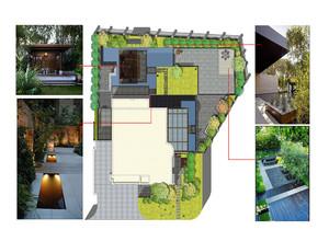 售楼部庭院设计平面图,售楼部平面图设计