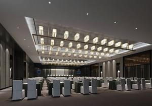 大型会议室设计效果图,大型会议室装修效果图