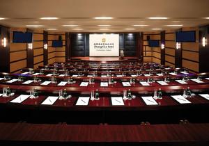 大型视频会议室效果图,大型会议室视频效果图