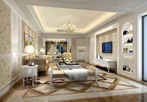 欧式田园风格客厅装修效果图,小面积欧式田园风格装修效果图