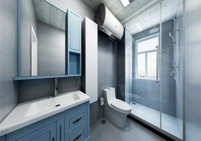 小型迷你卫生间装修效果图,6平方三分离卫生间装修效果图
