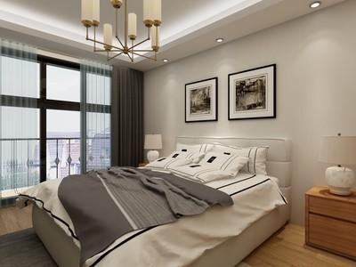 主卧阳台与客厅阳台一体效果图欣赏,主卧和客厅阳台一体效果图
