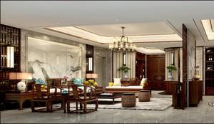 復古豪華中式裝修效果圖,豪華中式復式裝修效果圖大全