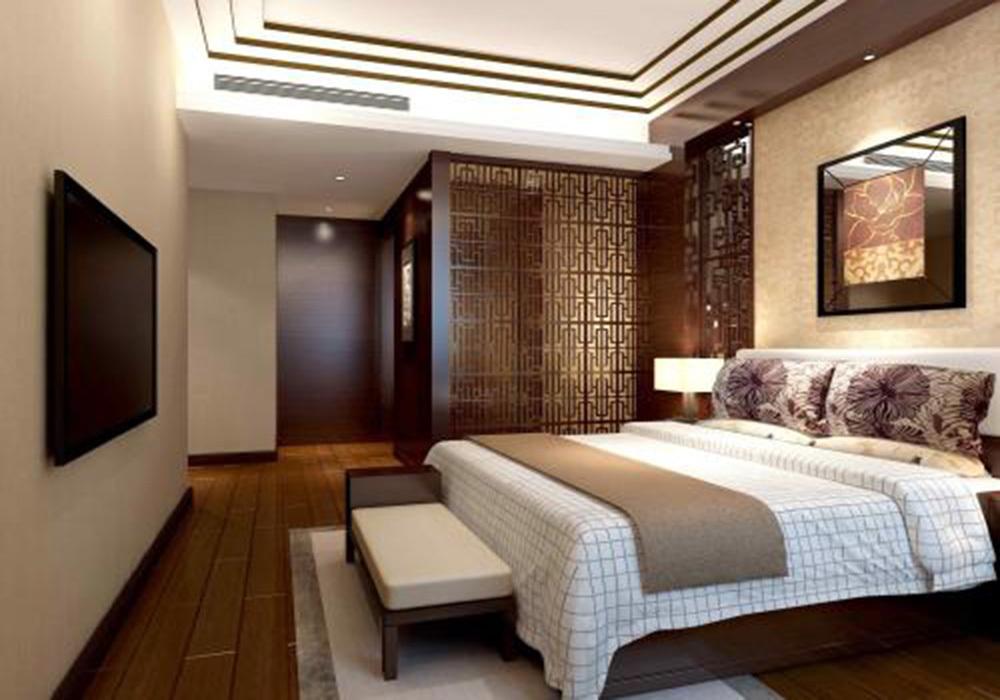 中式风格卧室装修图片,新中式卧室风格装修图片