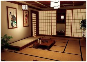 傳統日式和風裝修,日式和風裝修配色
