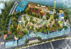 儿童游乐园设计平面图,小型儿童游乐园平面图