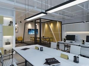金融公司办公室装修设计效果图,金融公司办公室装修效果图