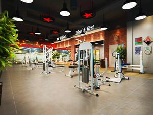 100平米健身房设计效果图,100平米健身房怎么设计效果图
