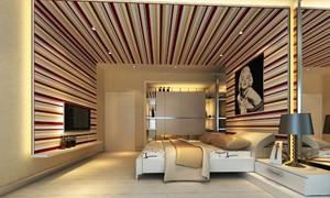 室内墙面装修竖条效果图,家居室内墙面装修效果图