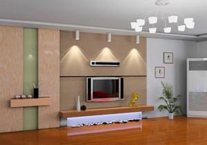 简约小户型影视墙效果图大全,小户型婚房客厅影视墙效果图大全