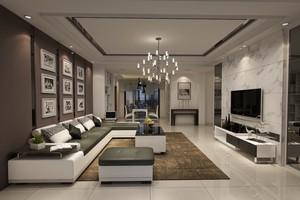 大理石电视柜沙发茶几效果图大全,客厅茶几沙发电视柜效果图