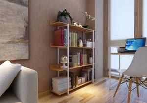 陽臺定制書桌和書柜效果圖,簡歐風格陽臺書桌書柜一體效果圖