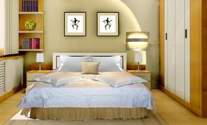 一个床头柜装修效果图,没床头柜的装修效果图
