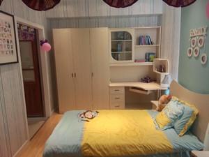 衣柜和床头柜一体装修效果图,床头柜放写字台装修效果图