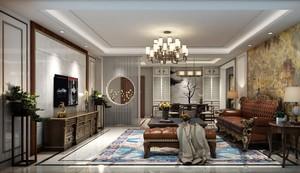 歐式裝修效果圖深色家具,深色家具地板裝修效果圖