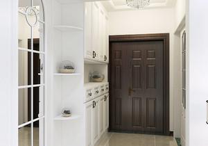 门厅玄关柜怎么设计效果图,中式玄关门厅柜效果图大全