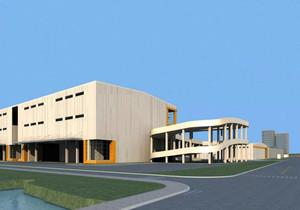 现代工业厂房设计效果图,现代工业厂房外形效果图