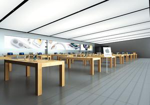 苹果专卖店的设计图,苹果专卖店的施工图