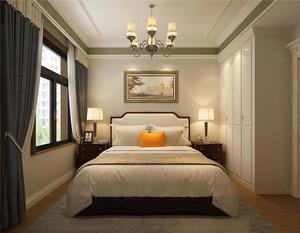 简美卧室木地板足彩导航效果图,简美卧室灯足彩导航效果图